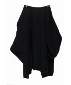 COMME des GARCONS(コムデギャルソン)の古着「ウールバルーンスカート」|ブラック