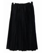 COMME des GARCONS GIRL(コムデギャルソンガール)の古着「プリーツスカート」|ブラック