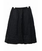 COMME des GARCONS GIRL(コムデギャルソンガール)の古着「フレアスカート」|ブラック