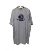 BALENCIAGA(バレンシアガ)の古着「authentic BB Tシャツ」|グレー