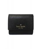 Kate Spade(ケイトスペード)の古着「3つ折り財布」|ブラック