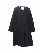 Apuweiser-riche(アプワイザーリッシェ)の古着「袖ファー付4WAYコート」|ブラック