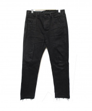 bukht(ブフト)の古着「PIN-TUCK SLIM TAPERED 5P JEANS」