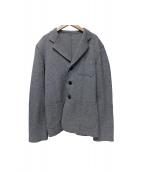 ANN DEMEULEMEESTER(アン ドゥムルメステール)の古着「ニットジャケット」|グレー