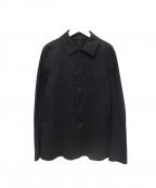 HARRIS WHARF LONDON(ハリスワーフロンドン)の古着「シングルジャケット」|ブラック