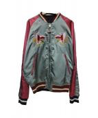 DIESEL(ディーゼル)の古着「J-Crust Souvenir Jacket」|マルチカラー