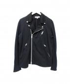 BEAUTY&YOUTH(ビューティアンドユース)の古着「スウェットライダースジャケット」