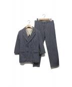 MARNI(マルニ)の古着「デザインセットアップ」|ネイビー