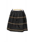 Rene(ルネ)の古着「フレアスカート」|ブラック