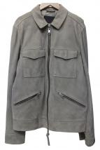 ALL SAINTS(オールセインツ)の古着「ゴートスウェードジャケット」