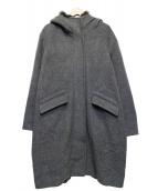 Jewel Changes(ジュエルチェンジズ)の古着「フーデッドコート」|グレー