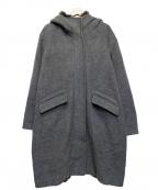 Jewel Changes(ジュエルチェンジズ)の古着「フーデッドコート」 グレー