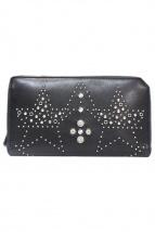 JIMMY CHOO(ジミーチュウ)の古着「長財布」|ブラック