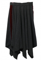 PAMEO POSE(パメオ ポーズ)の古着「スカート」|グレー