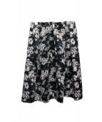TO BE CHIC(トゥビーシック)の古着「フラワープリントスカート」