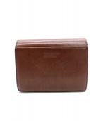 MARGARET HOWELL(マーガレットハウエル)の古着「2つ折り財布」|ブラウン