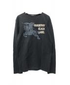 BURBERRY BLACK LABEL(バーバリーブラックレーベル)の古着「ロゴカットソー」