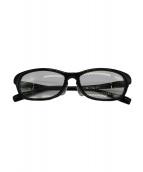 TRUSSARDI(トラサルディ)の古着「眼鏡」|ブラック