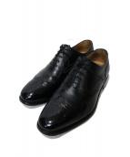 SCOTCH GRAIN(スコッチグレイン)の古着「ウィングチップシューズ」|ブラック