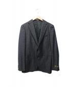 COMME CA MEN(コムサメン)の古着「シャドーチェックジャケット」