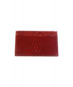 Cartier(カルティエ)の古着「カードケース」 レッド
