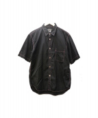 COMME des GARCONS HOMME DEUX(コムデギャルソンオムデュー)の古着「ステッチ半袖シャツ」