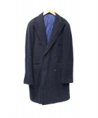 Brilla per il gusto(ブリッラ ペル イル グスト)の古着「アルパカ混コート」 ネイビー