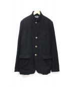 BLACK COMME des GARCONS(ブラックコムデギャルソン)の古着「ウールテーラードジャケット」|ブラック