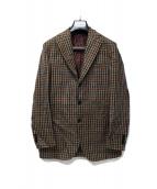 DEPETRILLO(デペトリロ)の古着「リネン混ジャケット」|ブラウン