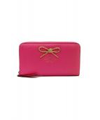 Kate Spade(ケイトスペード)の古着「長財布」|ショッキングピンク