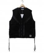 FLAGSTUFF(フラッグスタッフ)の古着「UTILITY VEST」|ブラック