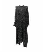 Ameri VINTAGE(アメリビンテージ)の古着「POWER SHOULDER FRIL DRESS」