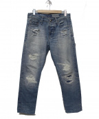 AG(エージー)の古着「ダメージジーンズ」 ブルー