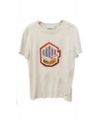 COACH(コーチ)の古着「スパンコールTシャツ」|グレー