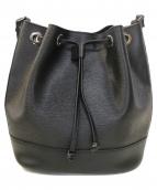 GIANNI NOTARO(ジャンニ ノターロ)の古着「巾着ショルダーバッグ」|ブラック