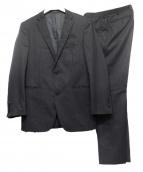 BURBERRY BLACK LABEL(バーバリー・ブラックレーベル)の古着「スリーピースセットアップスーツ」|ブラック