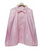 SHIPS(シップス)の古着「F.A.M.T コーチジャケット」|ピンク