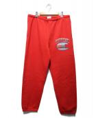Supreme × CHAMPION(シュプリーム × チャンピオン)の古着「クロームスウェットパンツ」|レッド