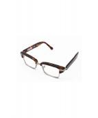 drasticcrazy(ドラスティッククレイジー)の古着「伊達眼鏡」 ブラウン
