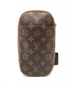 LOUIS VUITTON(ルイヴィトン)の古着「ポシェット」|ブラウン