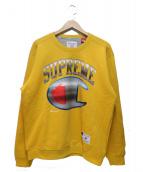 Supreme × Champion(シュプリーム × チャンピオン)の古着「クロームクルーネック」|イエロー