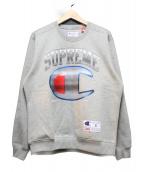 Supreme × CHAMPION(シュプリーム × チャンピオン)の古着「クロームクルーネック」|グレー
