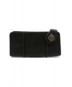 WINSHOUSE(ウインズハウス)の古着「レザー財布」 ブラック