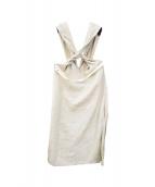 NEHERA(ネヘラ)の古着「Salgue Skirt」|グレー