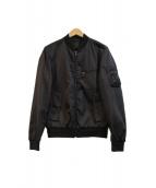PRADA(プラダ)の古着「MA-1ジャケット」|ブラック