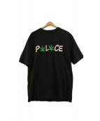 PALACE(パレス)の古着「フロッキープリントTシャツ」|ブラック