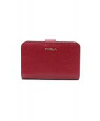 FURLA(フルラ)の古着「2つ折り財布」 ボルドー