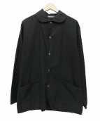 Fraizzoli(フライツォーリ)の古着「ステンカラーコート」|ブラック