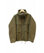 Barbour(バブアー)の古着「HOODED BEDALE」|グリーン