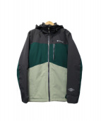 Columbia(コロンビア)の古着「ワイルドカードジャケット」|グリーン×グレー